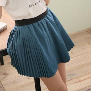 Accordion-Pleat Skirt