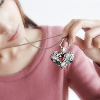 BAIMOMO - Jewel-Heart Necklace