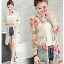 Mariposa - Printed Long Light Jacket