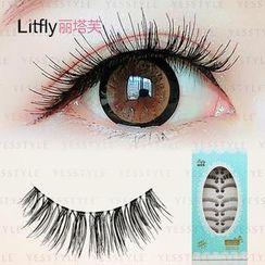 Litfly - Eyelash #402 (10 pairs) (Mixed Style)