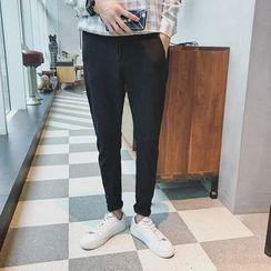 Dixon - Plain Drawstring Pants