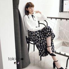 Tokyo Fashion - Floral Wide-Leg Pants