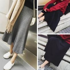 Octavia - Maxi Knit Skirt