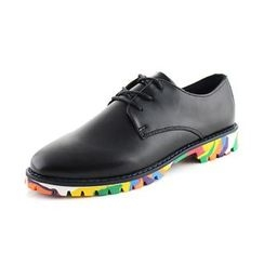 Preppy Boys - Genuine-Leather Lace-Up Oxfords