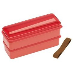 Skater - Earth Color Seal Lid Lunch Box (Pink)
