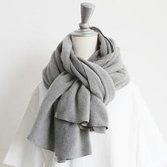 NANING9 - Plain Knit Scarf