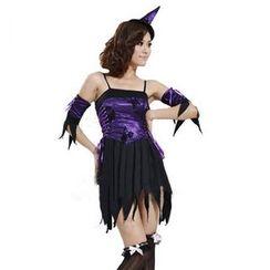 Cosgirl - 萬聖節女兩舞會服裝