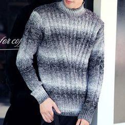 百高 - 高領毛衣