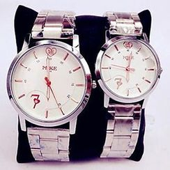 Nanazi Jewelry - Matching Couple Bracelet Watch