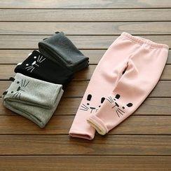 Spring Swallow - Kids Fleece-Lined Pants