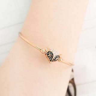 Cuteberry - Rhinestone Fox Bangle