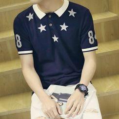Bloemen - 短袖印花马球衫