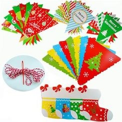 Make a Wish - X'mas Printed Decorative Flag