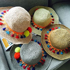 Hats 'n' Tales - Tassel Straw Hat