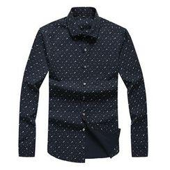 RUYA - Long-Sleeve Printed Shirt