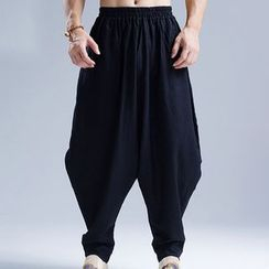 Sparrow Farm - Plain Drop Crotch Pants
