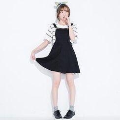 CatWorld - Denim Jumper Skirt