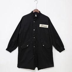 Mr. Cai - Applique Long Jacket