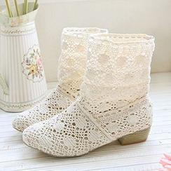 CITTA - Crochet Short Boots