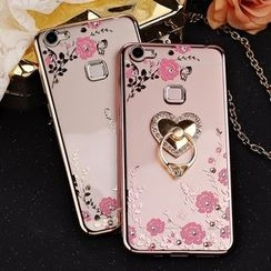 Wince - Floral Mobile Case for Vivoxo X6