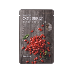 The Face Shop - Real Nature Goji Berry Mask Sheet 1pc