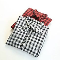 Ranche - Plaid Shirtdress
