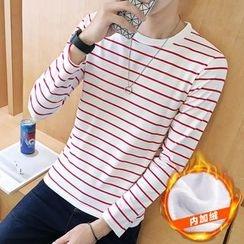 Masowild - Long-Sleeve Striped  T-Shirt