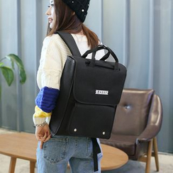 AIQER - Lettering Square Backpack