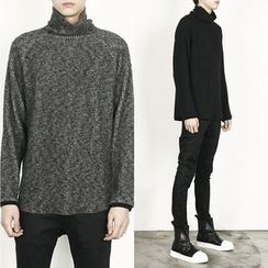 Remember Click - Wool-Blend Turtle-Neck Sweater