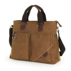 Moyyi - Canvas Tote with Shoulder Strap