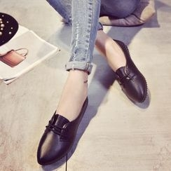 Shamrock Shoes - 尖頭平跟鞋