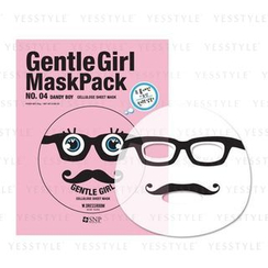 SNP - Gentle Girl Mask Pack Cellulose Sheet Mask (No.04 Dandy Boy)