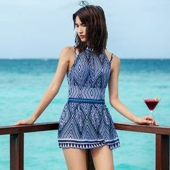 Zeta Swimwear - Patterned Swimdress