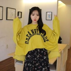 Envy Look - Lettering Oversized Sweatshirt