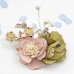 Mocca - Flower Brooch (Various Designs)