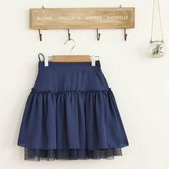 11.STREET - Chiffon Lace Skirt