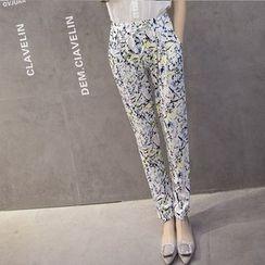 wisperia - Printed Harem Pants