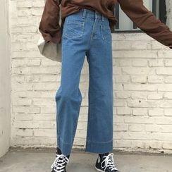 Rollis - Wide Leg Jeans