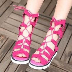 Luco - Kids Lace Up Sandals