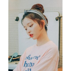 pinkage - 小波浪髮髻