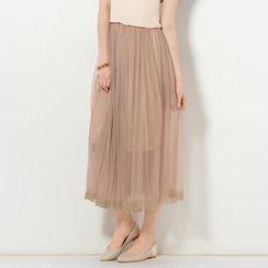 YesStyle Z - Tulle Maxi Skirt