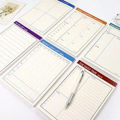 Cute Essentials - Planner / Memo / Schedule (Medium)