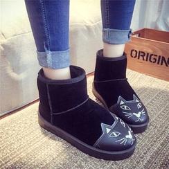 Charming Kicks - 貓貓短筒雪靴