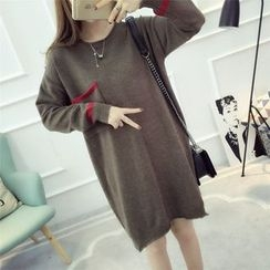 Dream Girl - Long-Sleeve Knit Dress