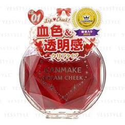 Canmake - Cream Cheek (#CL01 Clear Red Heart)
