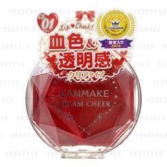 Canmake - 梦幻胭脂膏 (#CL01 透明红心)