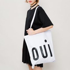 Heynew - Print Canvas Shopper Bag