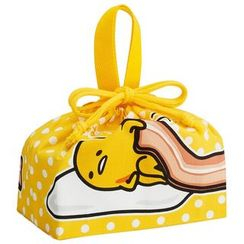 Skater - Gudetama Drawstring Lunch Bag