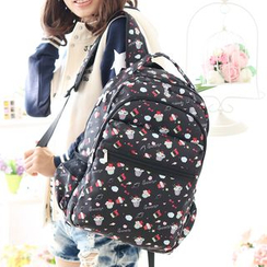 Canvas Love - Cupcake Print Backpack