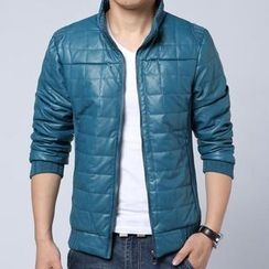 Alvicio - Mandarin Collar Padded Jacket